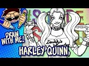 Let's Draw HARLEY QUINN (Suicide Squad) | Advanced Drawing Guide | Draw With Me Tutorial