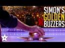 Simon Cowell's Best GOLDEN BUZZER Moments Got Talent Global