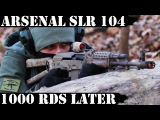 Arsenal SLR104, 1000rds Later Frost Bite!