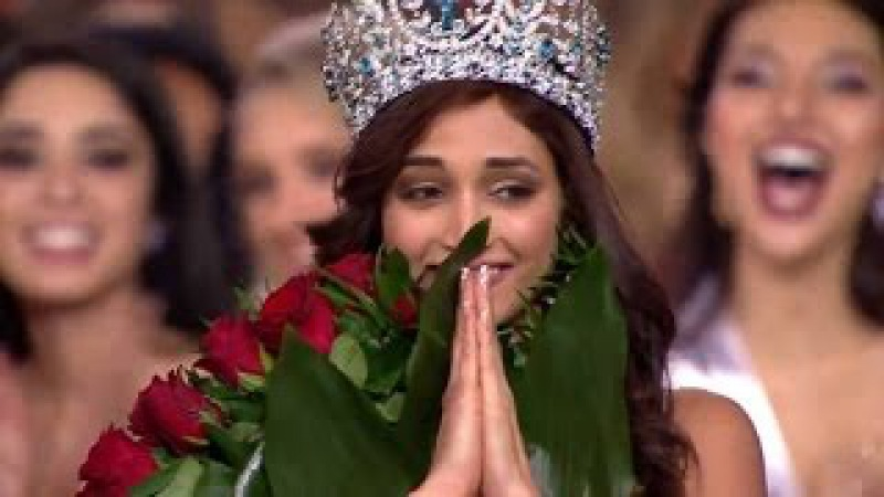 Indias Srinidhi Shetty Crowned as Miss Supranational 2016 - Winning Moment