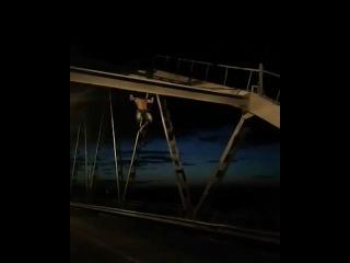 На Ишимском мосту. Петропавловск.