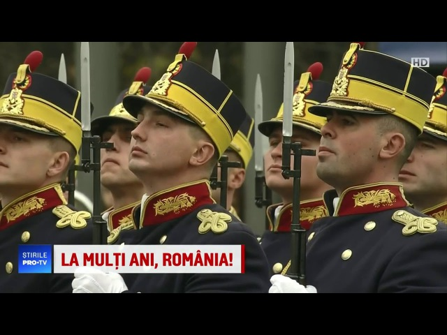 Stirile ProTV - Parada Natioanala a Romaniei 1 Decembrie 2017