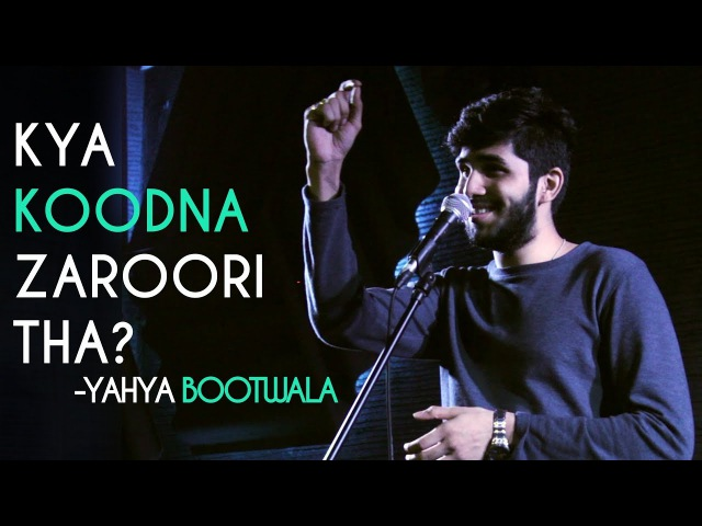 Kya Koodna Zaroori Tha? - Yahya Bootwala | Kahaaniya - A Storytelling Open Mic By Tape A Tale