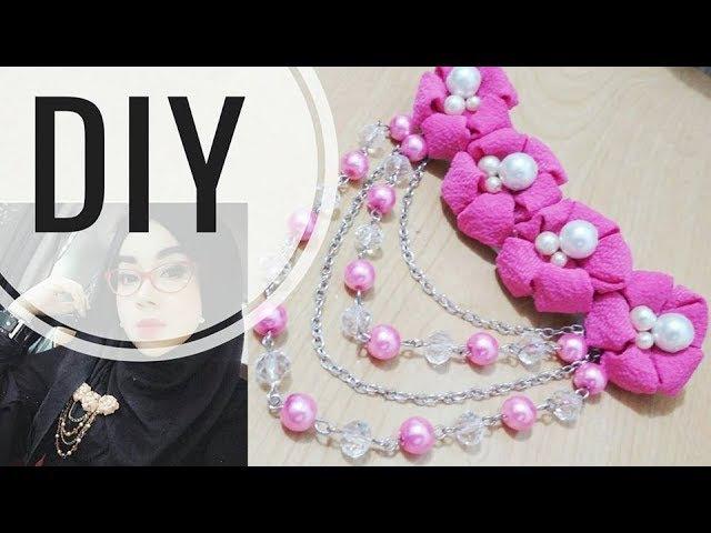 DIY || Tutorial Bros Bahu Deret 02 | Kekinian | Bunga menul - menul | Easy Tutorial Fabric Flower 🌸