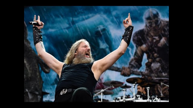 Amon Amarth - The Pursuit Of Vikings Live HD 50fps !!