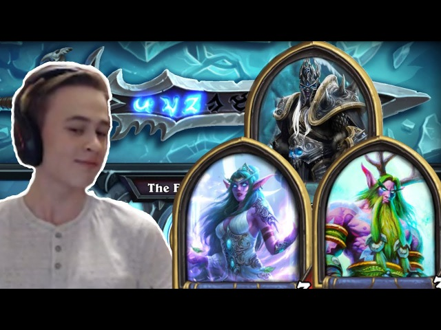Hearthstone: Defeating The Lich King - Priest and Druid