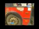 В Мотовилихе в рейсовый автобус врезалась Газель. 8 человек пострадали