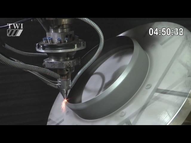 Технология лазерного осаждения металла.