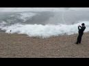 Viral Video UK: Ice wave on Lake Baikal