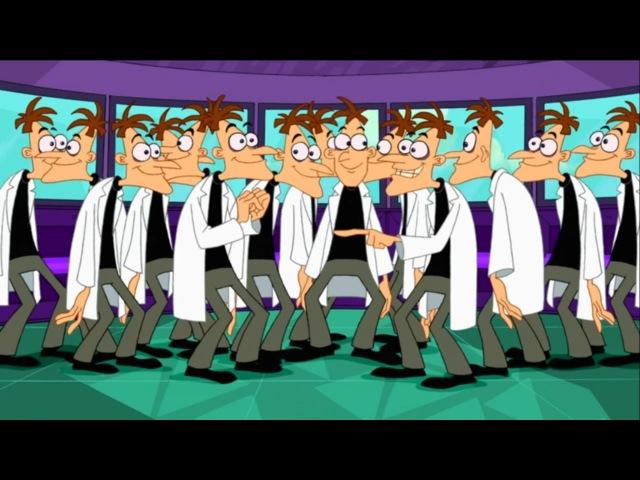 Финес и Ферб Беглец убегай Я кричу и ты кричишь Серия 3 Сезон 1 Disney