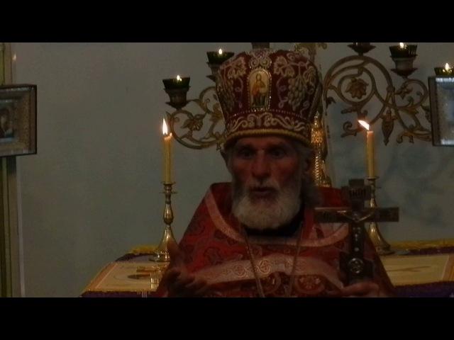 Столетие со дня рождения Амфилохия село Борисовка