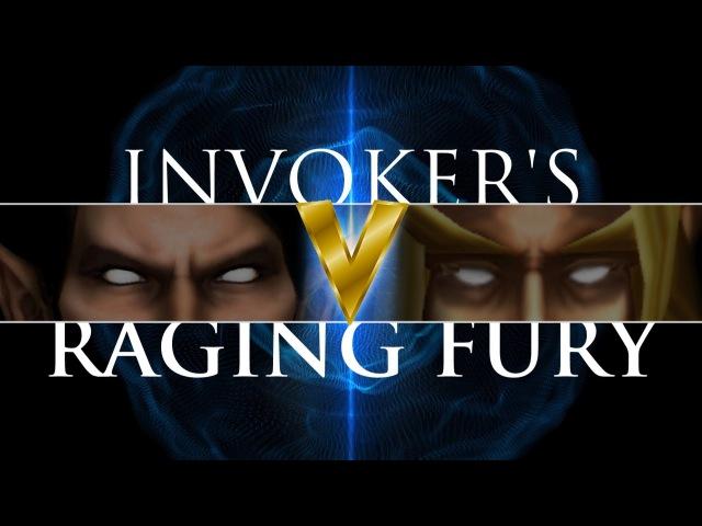 Dota 2 Invokers Raging Fury 5