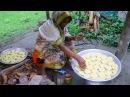 So Yummy Village Food / Amazing Tasty Coconut Pakan Pitha / Tasty Coconut Pakan Pitha Bengali Recipe