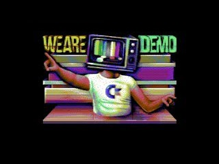 OFFENCE FAIRLIGHT NOICE 2016 WE ARE DEMO (C64)