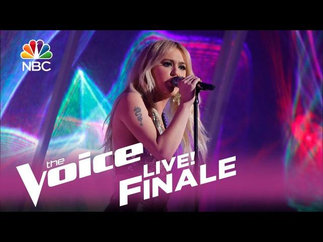 Шоу «Голос» США 2017. Финал. - Хлоя Кохански с песней «Глаза Бетт Дэвис». —