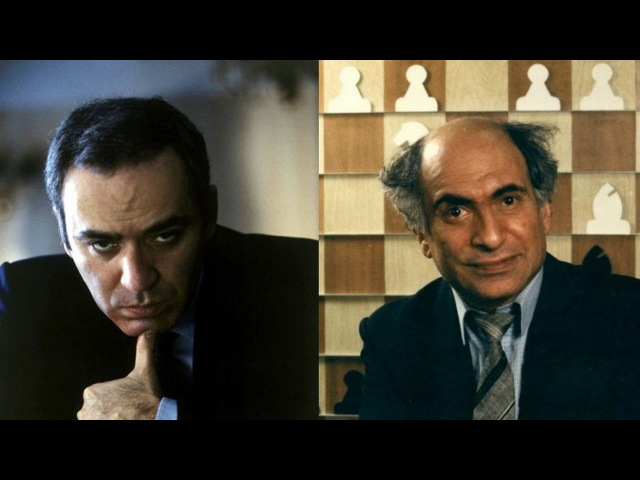 Шахматы Каспаров Таль красивый поединок двух Шахматных Королей