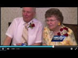 Love Story - KMBC Channel 9 - Couple Celebrates Their 75th Wedding Anniversary! Congrats! #2