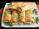РУЛЕТИКИ из ЛАВАША с начинкой КАК ПИЦЦА Закуска на пикник или вкусный завтрак
