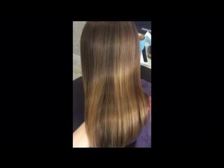 Мастер: os_popova (Попова Ольга). Ботокс для волос волос для Жанны.