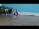 соревнования по спортивной аэробике 31 03 2017 Большакова Полина