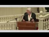 Выступление Татьяны Владимировны Черниговской на Дискуссии в Эрмитажном театре, посвященная 25-летию The Art Newspaper.