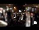 Полицейская машина перевернулась в Кишиневе
