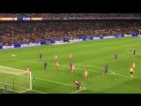 Messi. Free kick