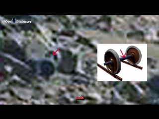 Ancient aliens on mars_ train axle caught by curiosity
