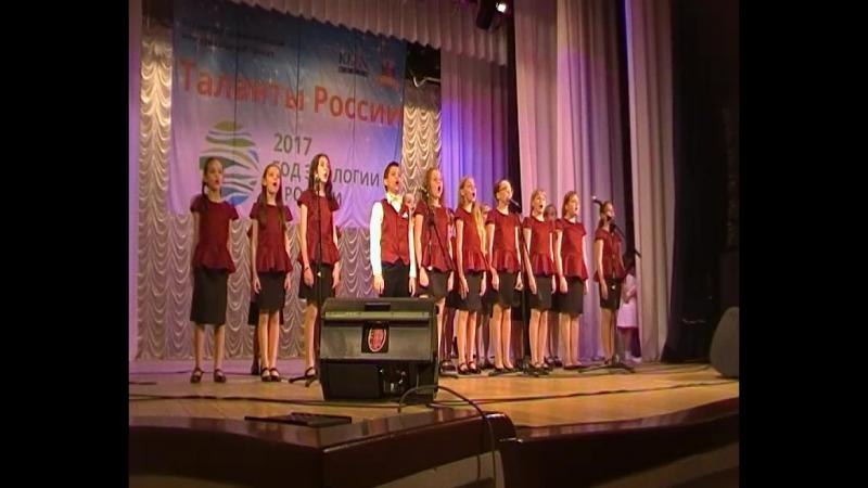 Таланты России Мир без войны Саша, хор
