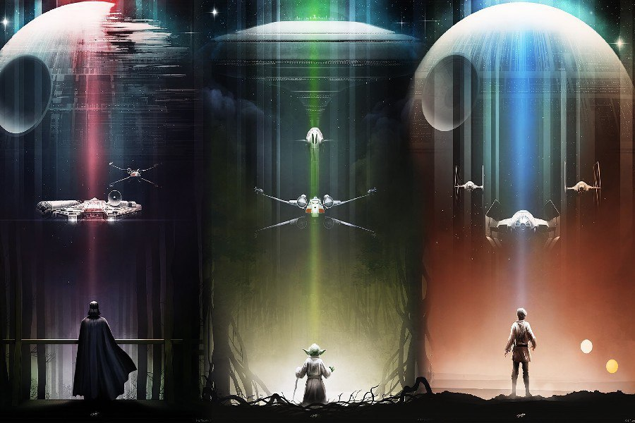 Декоративная картина Star Wars