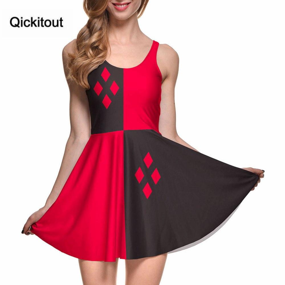 Платье в стиле Harley Quinn