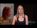 2017 ›› Интервью для uInterview в рамках промо тура фильма Леди Птица