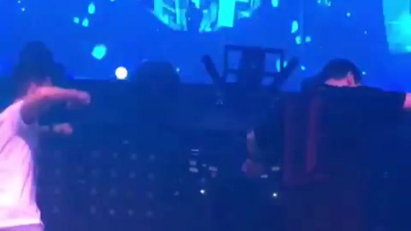 Tiesto Martin Garrix at Hakkasan Las Vegas Nevada 02 09 2017