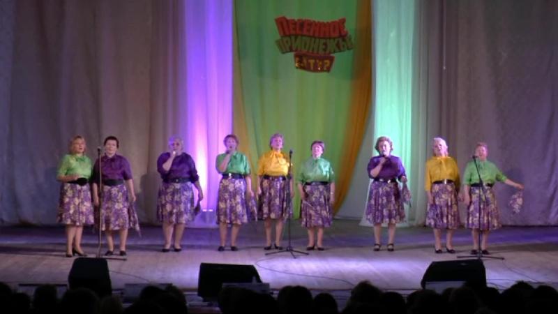 Хор Сударушки п Глазаниха на III туре конкурса Песенное Прионежье в Онеге