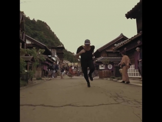 Red Bull - Jason Paul (free)running back in time. 🇯🇵 Watch the...(1080p)