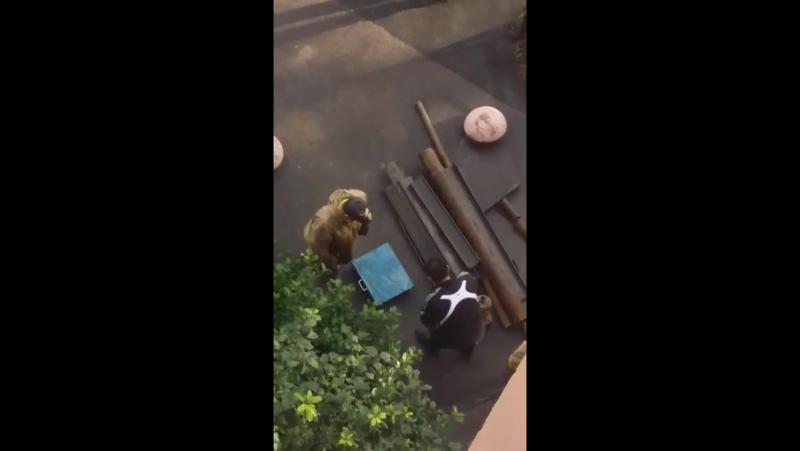 В Санкт-Петербурге похитители канализационных люков попали на камеру | Приморский район