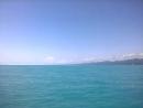 В море....