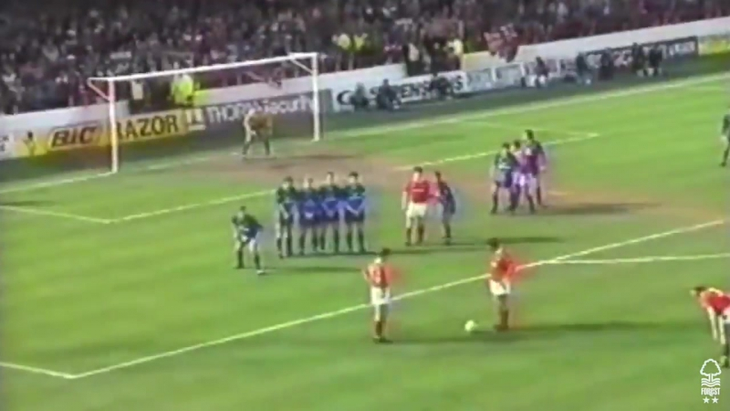 7-0 win at The City Ground in the 1990-91