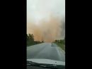 Мощный сухой шквал Dry downburst в Тимишоаре Румыния 17 09 2017