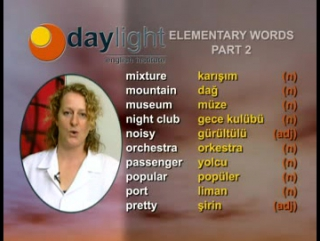 Daylight 15.Ders: Elementary Class General Topics 5