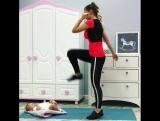 Тренировка молодой мамы