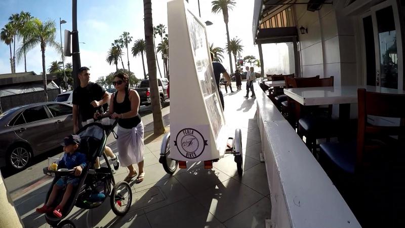 Ferla Promo Bike Featured in Santa-Monica-CA