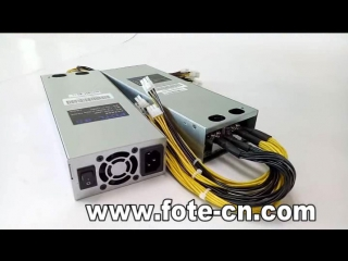 FOTL:1600W-2000w bitcoin mining power supply