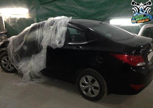 Кузовной ремонт  хёндай солярис