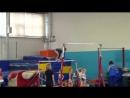 Данилова Женя, 2 взр.р. обяз.пр., брусья, Первенство СПб 12.05.2017г.