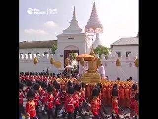 Похороны короля Таиланда