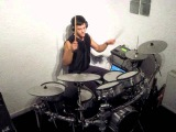How electronic drums sound like without an amplifier