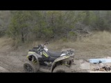 ATV Riding at Hidden Falls Texas. ATV Riding From Camp A to Perimeter and Mud FULL