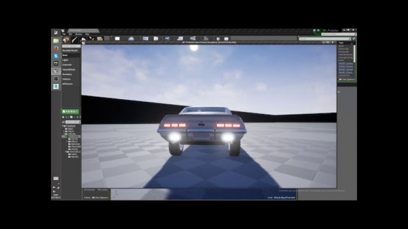 Brake Light tutorial anyone? (unreal engine 4)(Blueprint)
