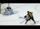 Evgeni Malkin makes Jordan Nolan pay for trying to pinch on defence